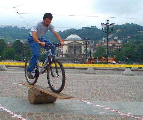 Campo mtb piazza Vittorio Veneto - Torino