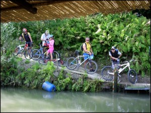 Canoa e bici nel Parco del Po cuneese