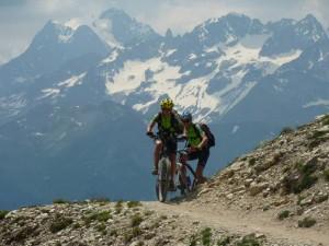 Escursione MTB al Col du Granon (Francia)