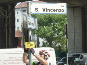 Verifica percorso Moncalieri Racconigi (TO)