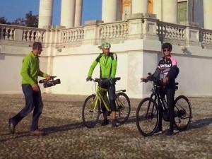 In bici con Filippa - She bike - Superga (TO)